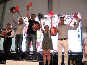Ironman-Siegerehrung