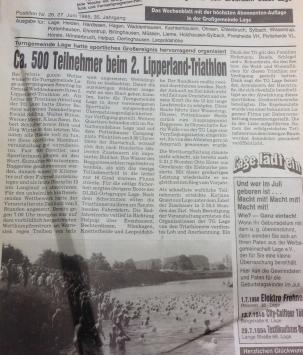 Zeitungsausschnitt_Lipperlandtriathlon_1985-2