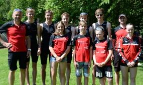 TriTeam TG Lage Youngster bei Triathlon Oelde 2018